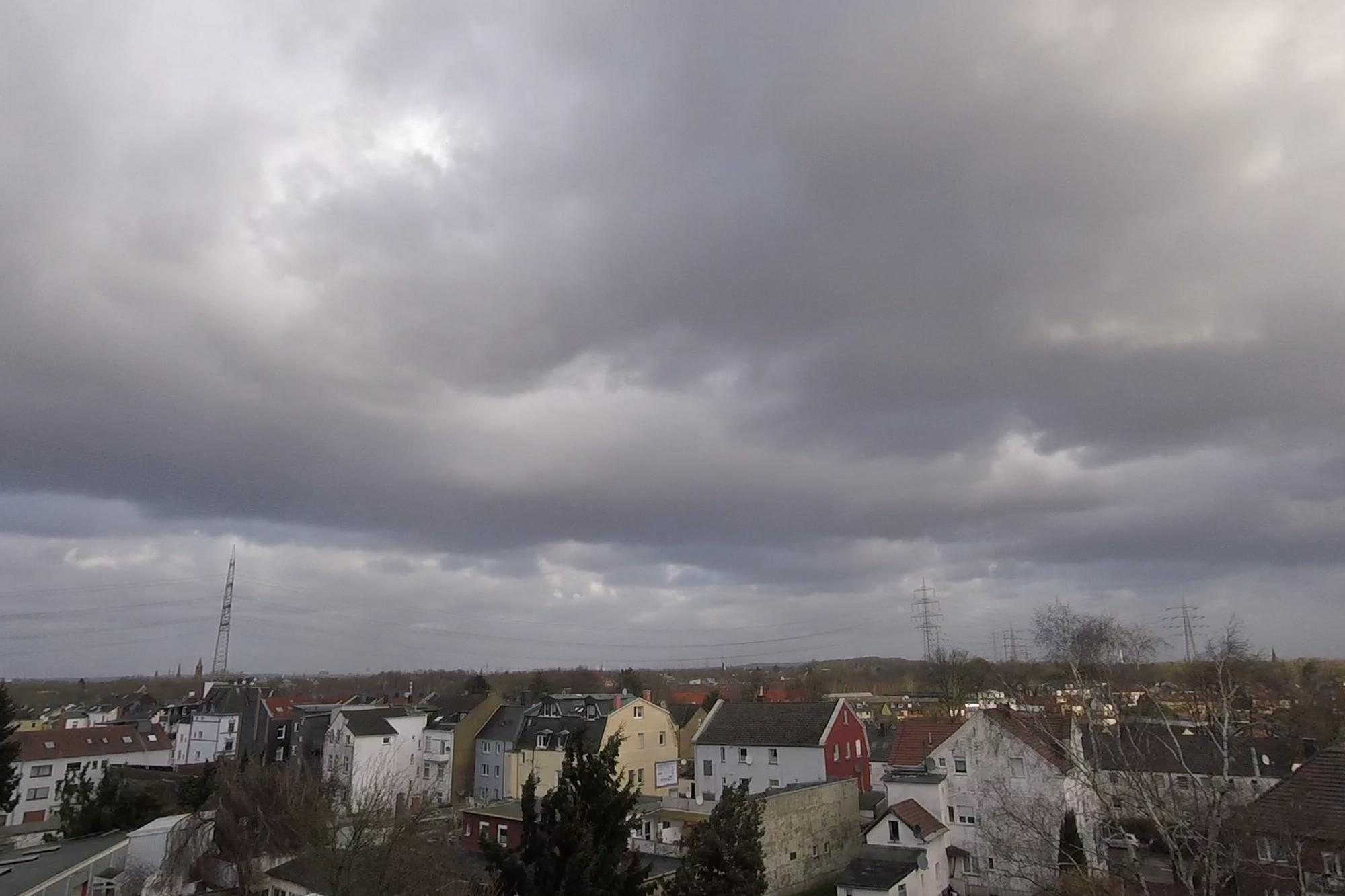 Sturm Friederike im Timelapse